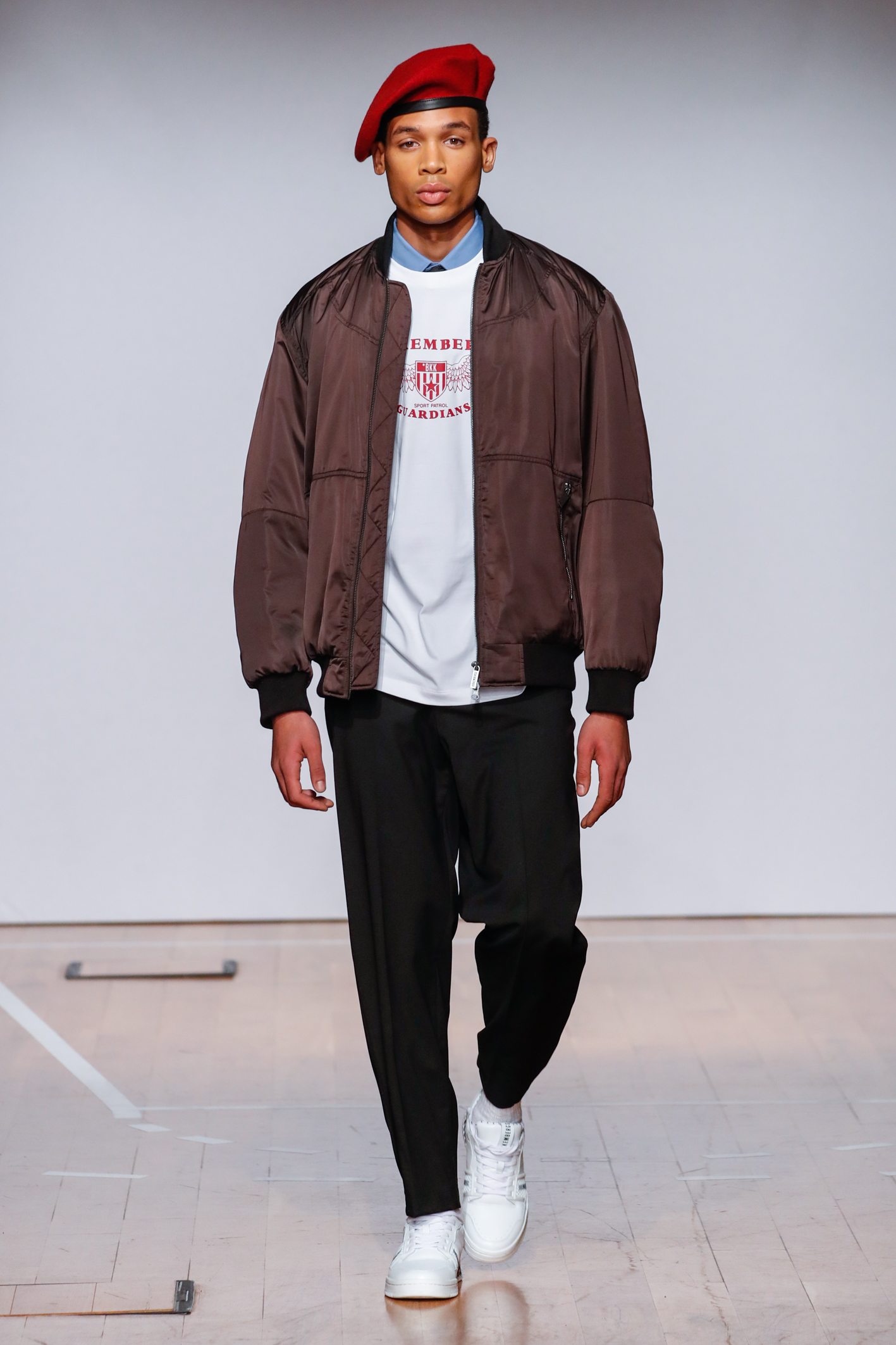 A look from the Bikkembergs fall 2020 collection