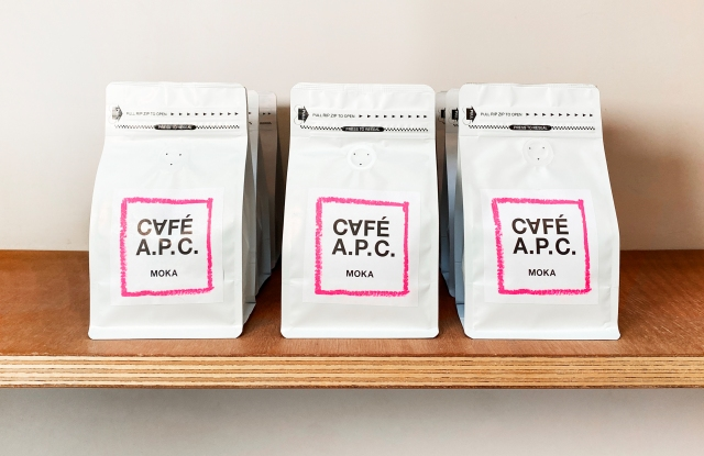 The Moka coffee blend developed by A.P.C. for its Café A.P.C.