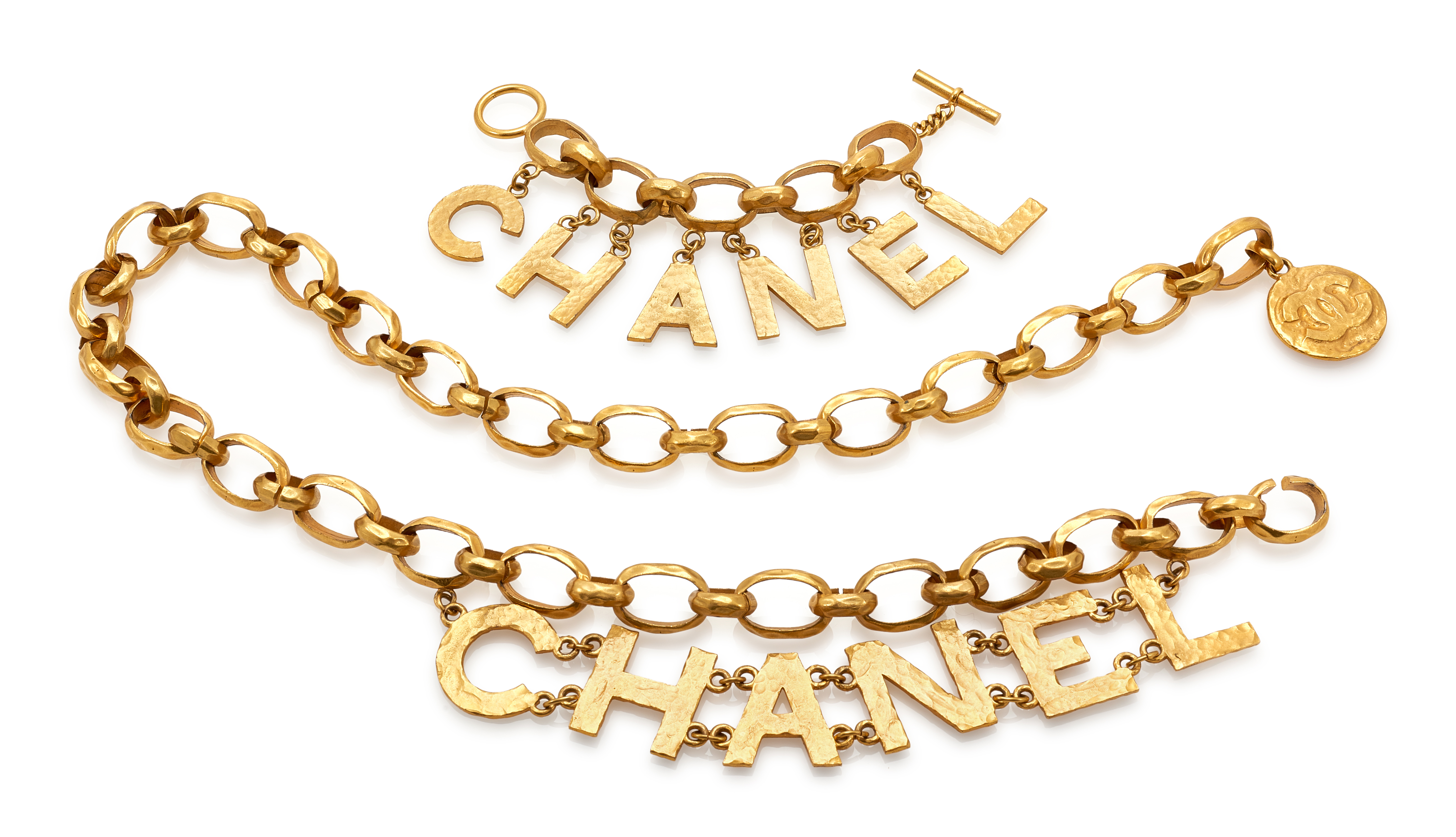 Chanel chain belt and bracelet to be auctioned online by Sotheby's