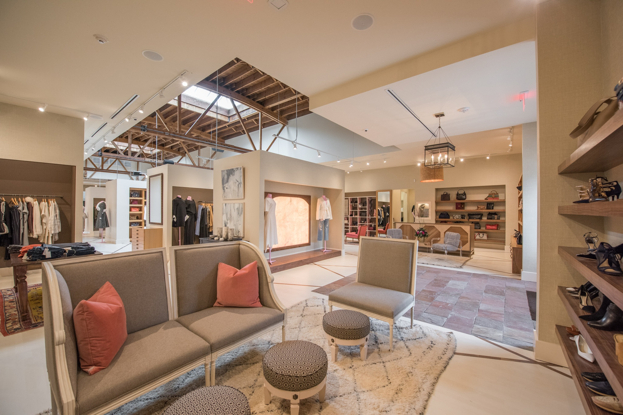 The interior of Neapolitan Collection.