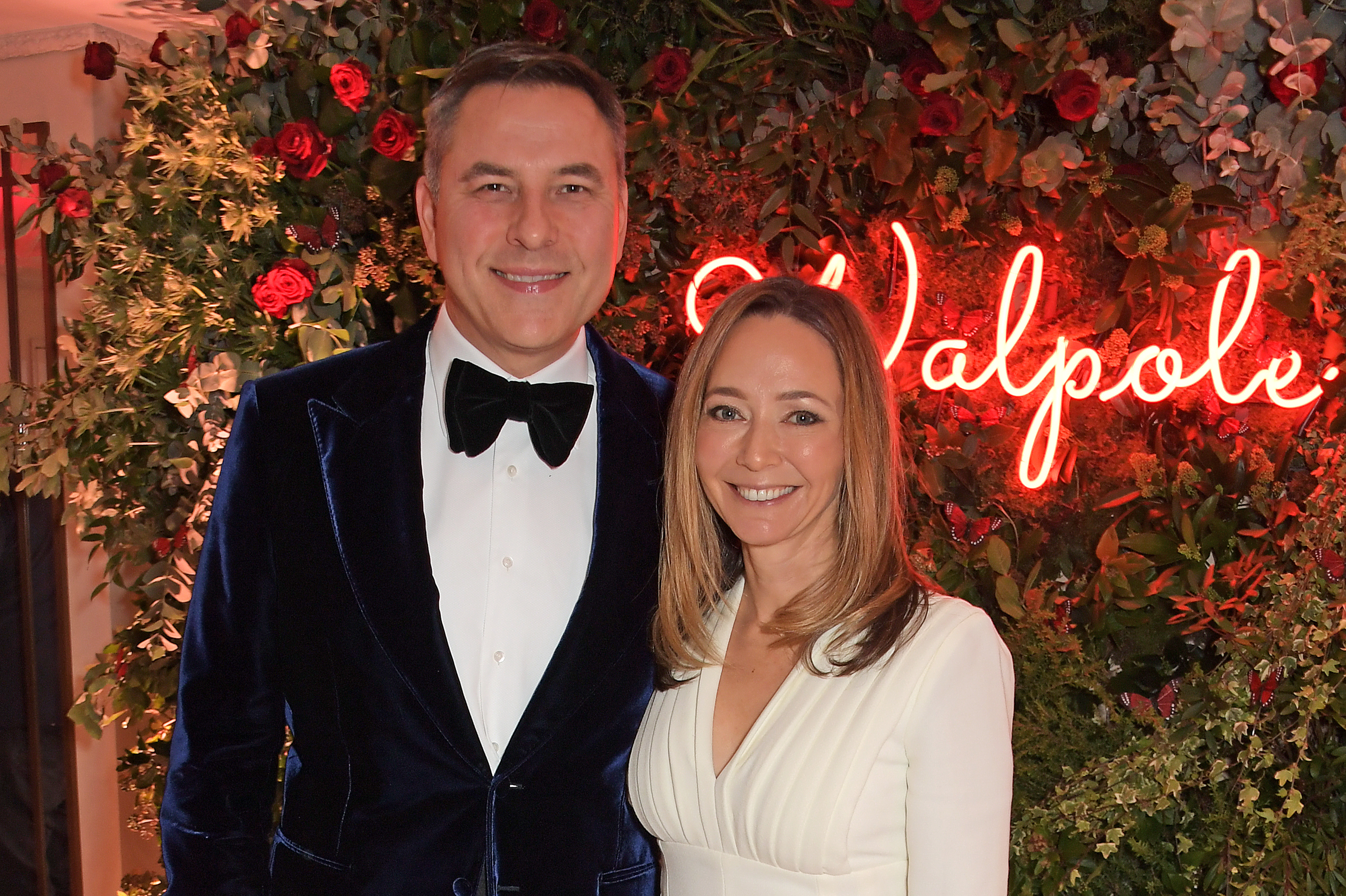 LONDON, ENGLAND - NOVEMBER 18: David Walliams and Whitney Bromberg Hawkings attend the Walpole British Luxury Awards 2019 at The Dorchester on November 18, 2019 in London, England. Pic Credit: Dave Benett