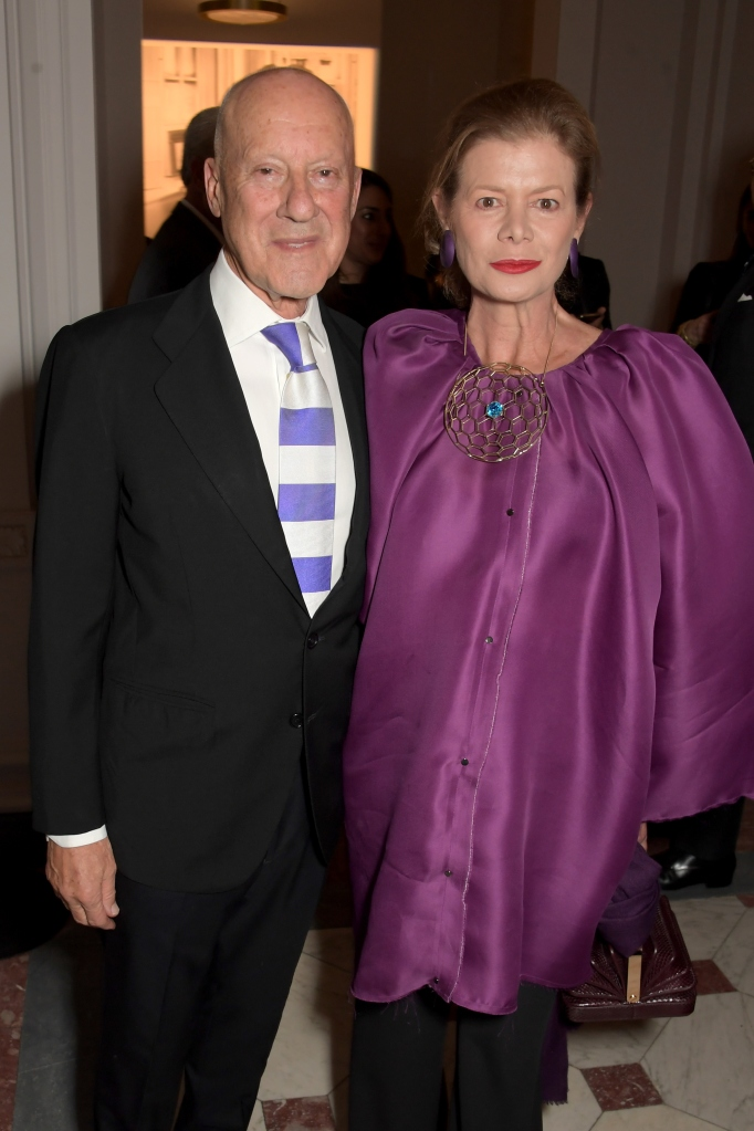 LONDON, ENGLAND - NOVEMBER 14: Lord Foster of Thames Bank and Lady Foster attend the UK Premiere of 'Very Ralph' at Royal Academy of Arts on November 14, 2019 in London, England. Pic Credit: Dave Benett