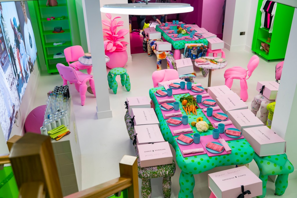 Inside the new Natasha Zinko store