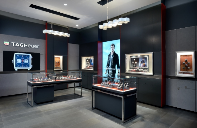 Tag Heuer store at the Yorkdale shopping mall