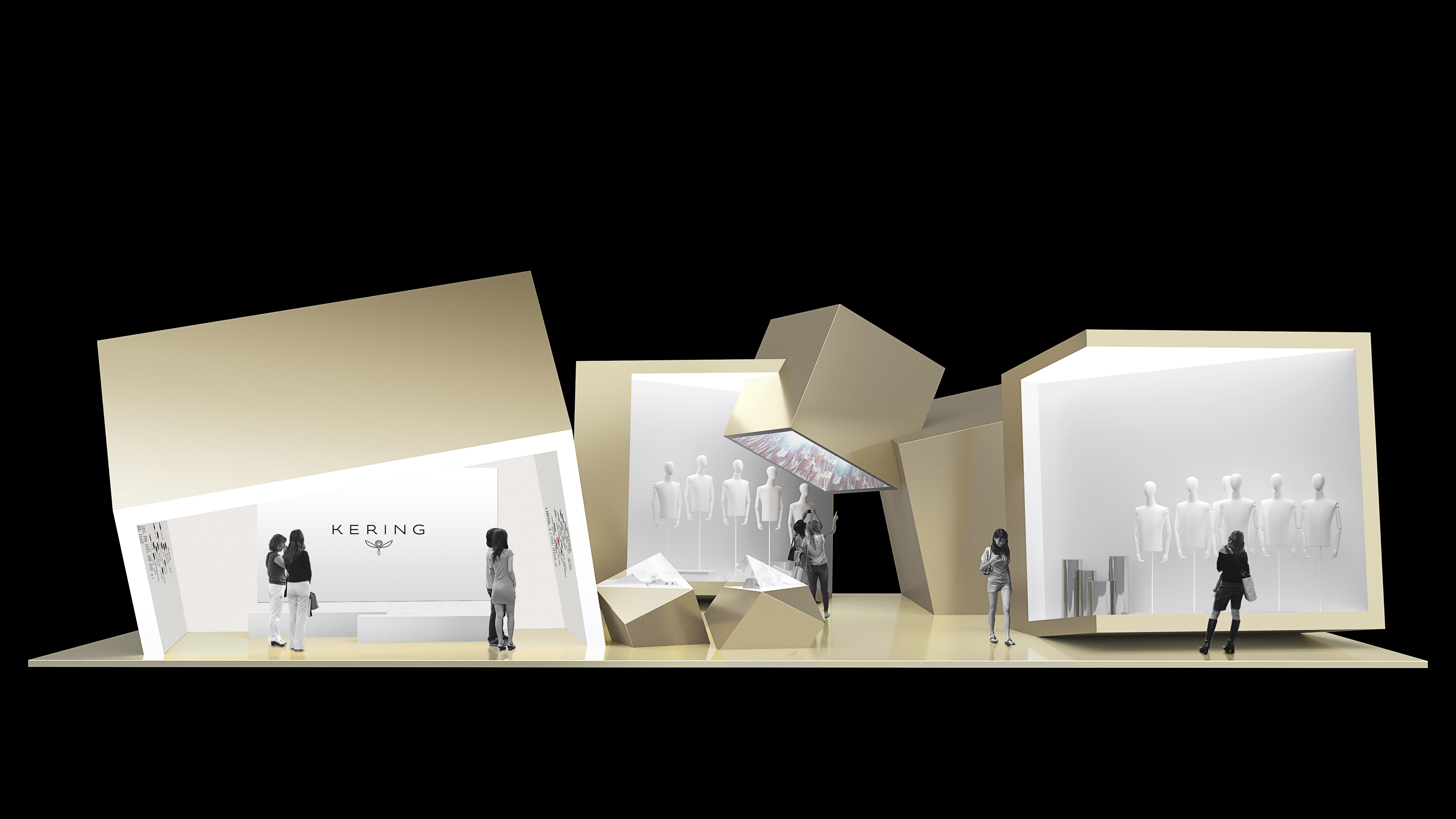 Kering Pavilion at the second edition of China International Import Expo in Shanghai