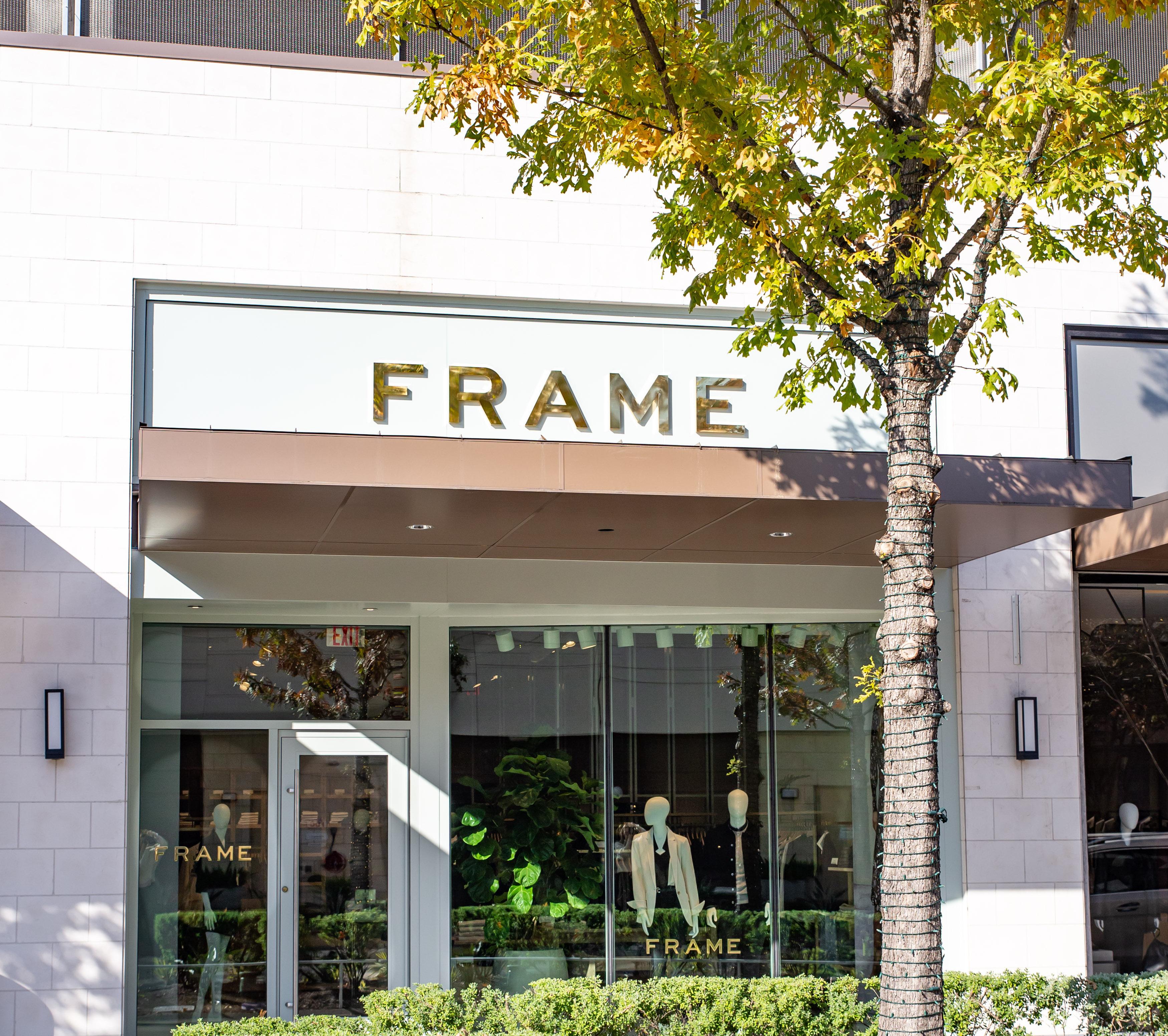 frame Houston store