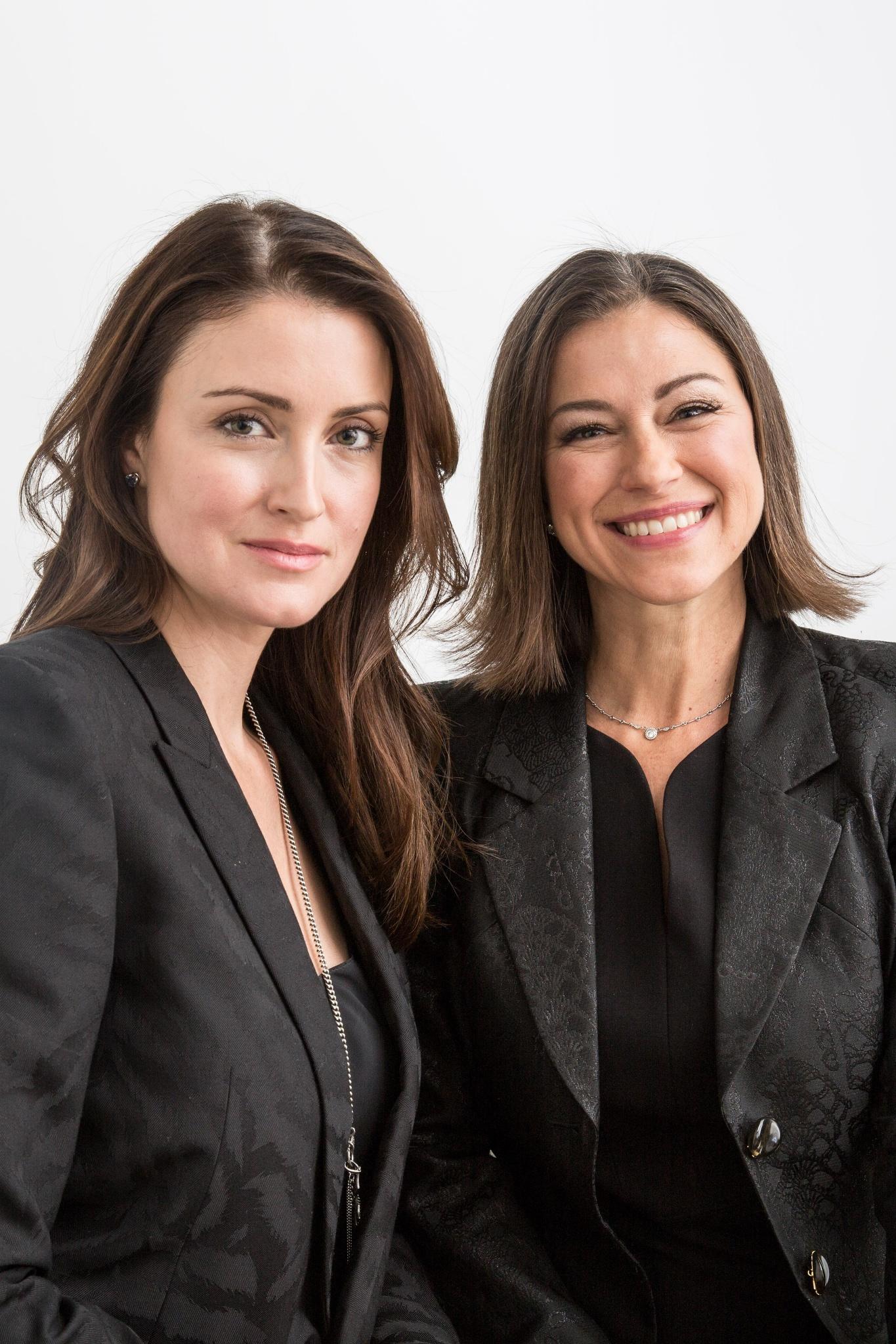 Furtuna Skin cofounders Agatha Relota Luczo and Kim Walls.
