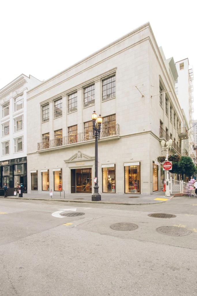 Behind The Veil at Hermés' San Francisco Reopening