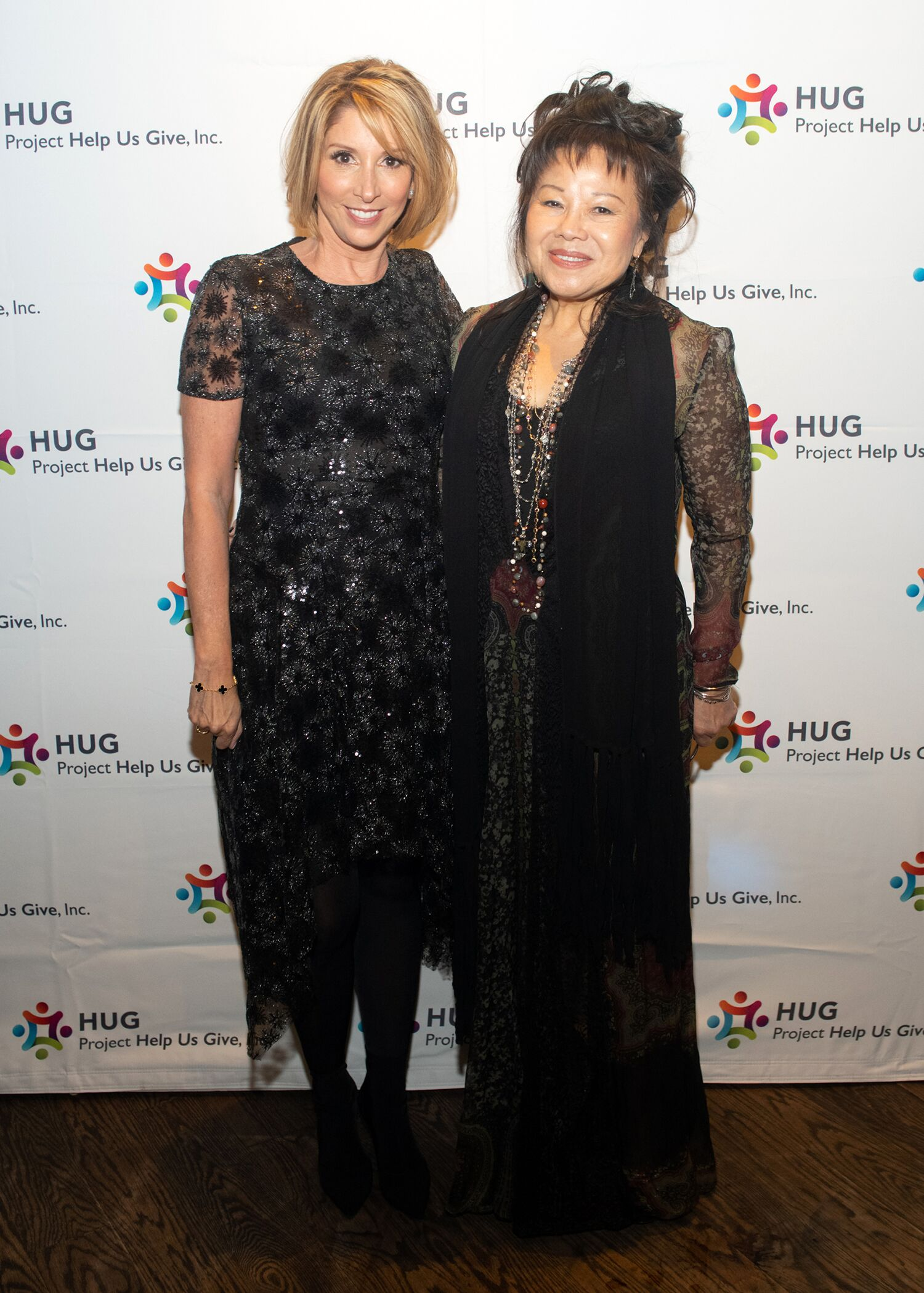 Susan DeMusis Dora Lau Project HUG Gala