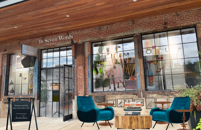 A rendering of In Seven Words, opening in the Union Market District in Washington, D.C.