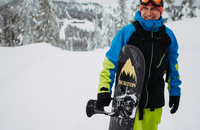Snowboard Pioneer Jake Burton Carpenter