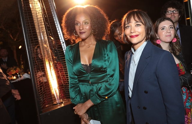 Sarah Jones, Rashida Jones attend as Ghetto Film School celebrates their fall gala at a Private Residence on November 7, 2019 in Beverly Hills, CA (photo: Alex J. Berliner/ABImages)