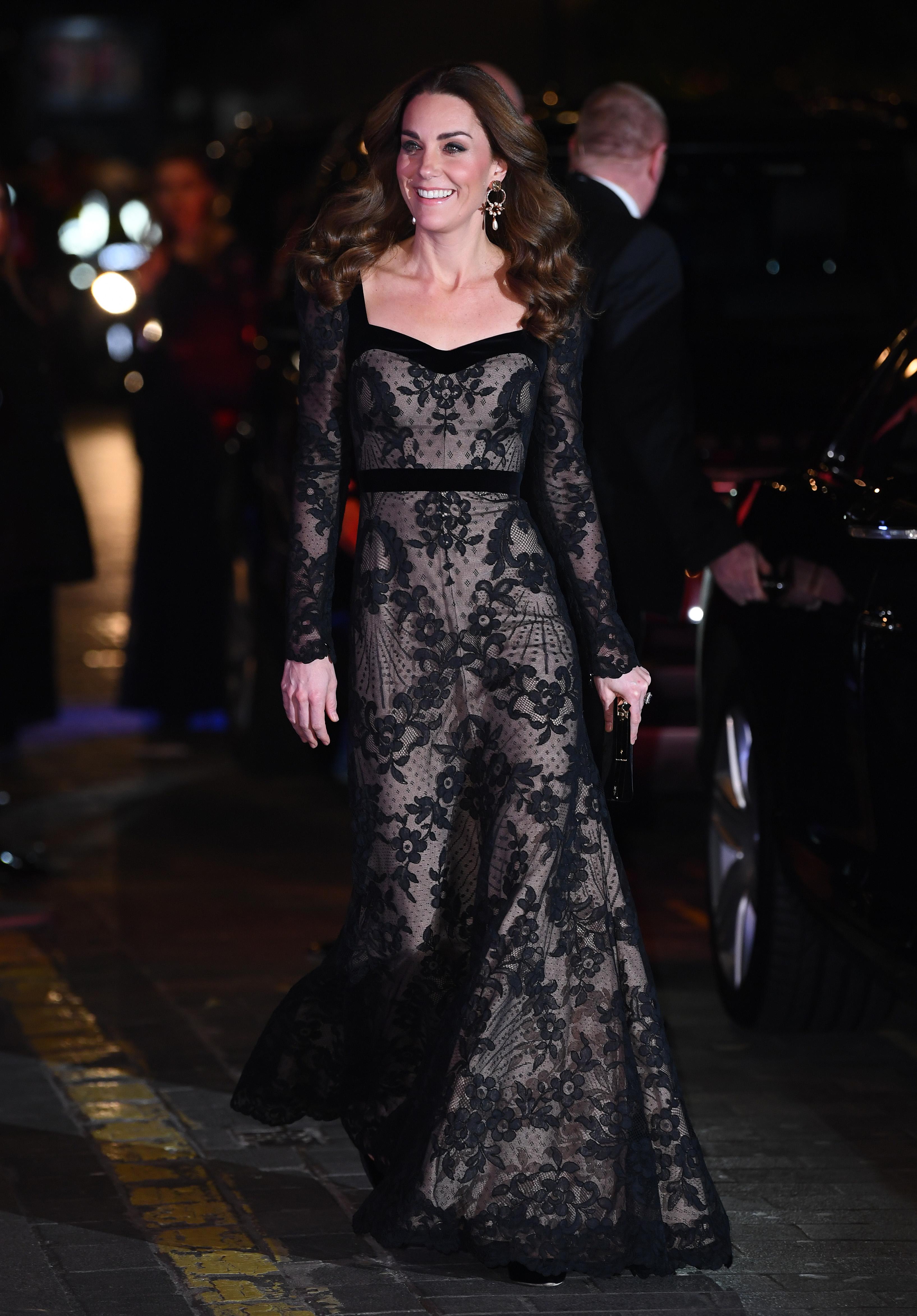 Kate Middleton at Royal Variety Performance 2019