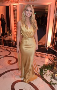 LONDON, ENGLAND - NOVEMBER 18: Lady Kitty Spencer attends the Walpole British Luxury Awards 2019 at The Dorchester on November 18, 2019 in London, England. Pic Credit: Dave Benett