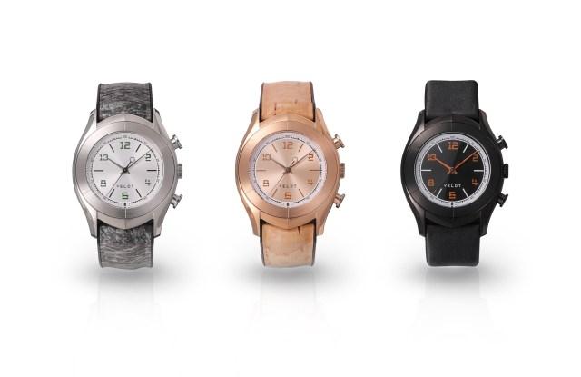 Veldt's new Luxture Aarde line of watches