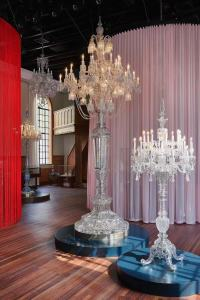 "The ""Candelabrum of the Tsar,"" two pieces that date to 1896 when the Russian tsar Nicholas II and tsarina Alexandra Feodorovna visited Paris — discovering and subsequently commissioning Baccarat."