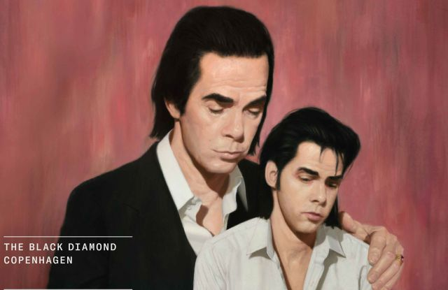 """The poster of """"Stranger Than Kindness: The Nick Cave Exhibition,"""" running March 23 to Oct. 3 in Copenhagen."""