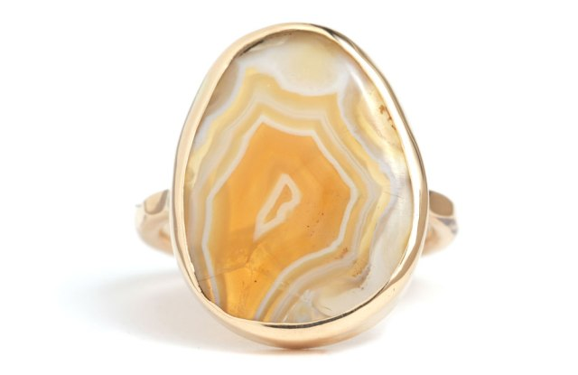 Laguna Agate Ring by Melissa Joy Manning