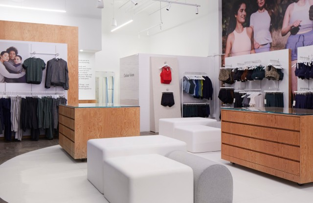 Outdoor Voices' new New York City flagship.