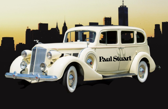 Paul Stuart's 1938 Packard.