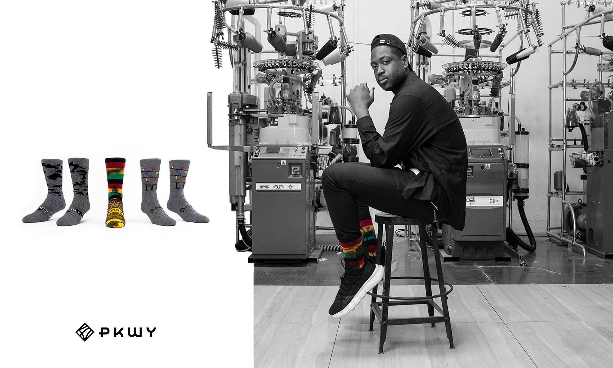 Dwyane Wade First Pkwy Lifestyle Sock