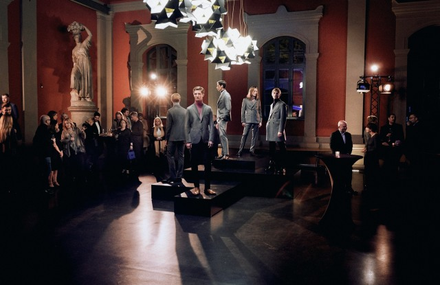 First of many: The launch of Manheimer men's wear in Berlin.