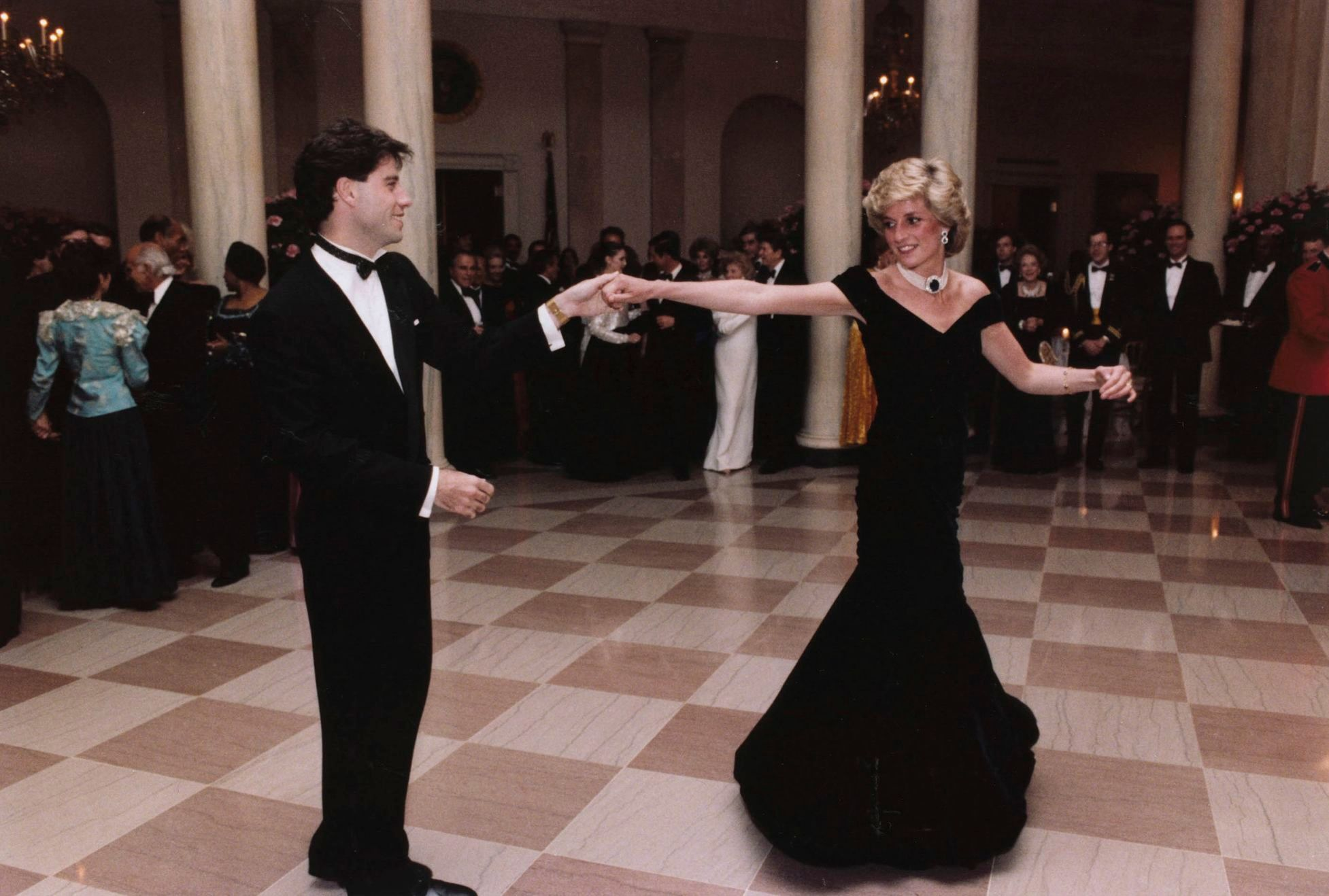 Princess Diana's Victor Edelstein Blue Dress Is Up For Auction