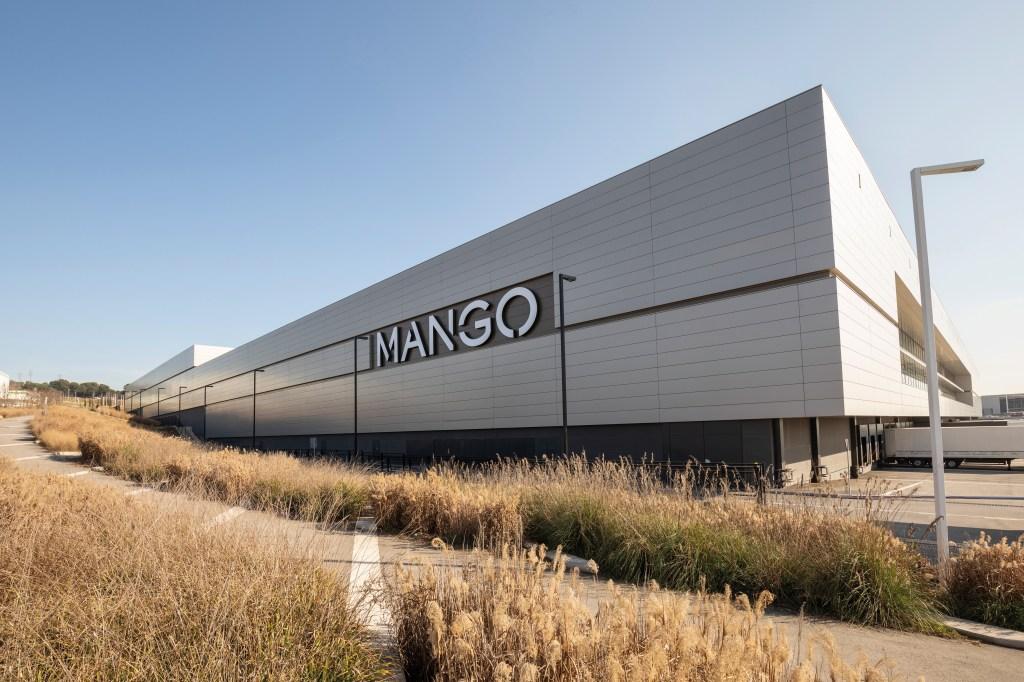 The Mango logistics plant in Lliçà D'Amunt, Spain.