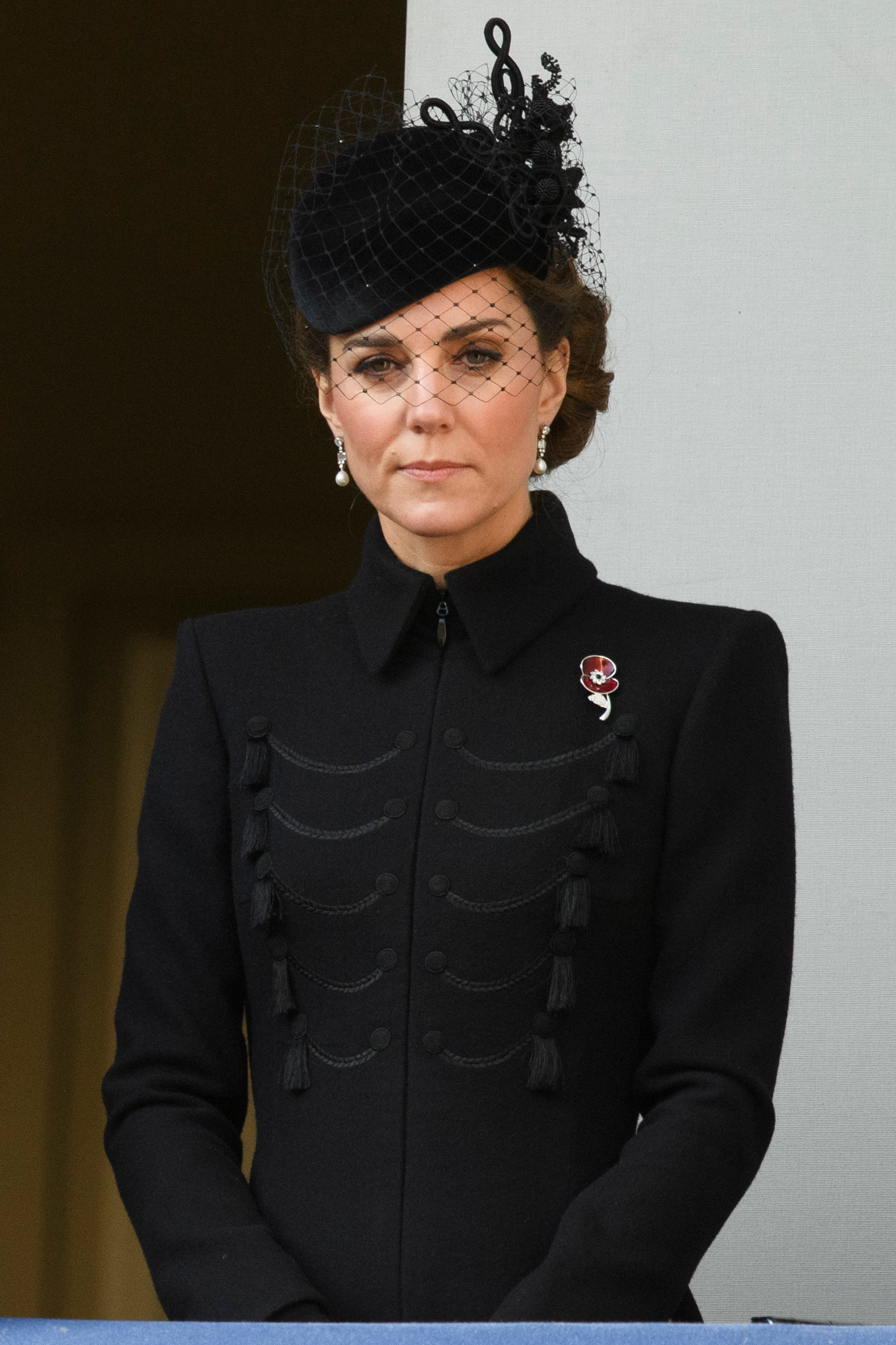 The British Royal Family Attends Remembrance Day Service 2019