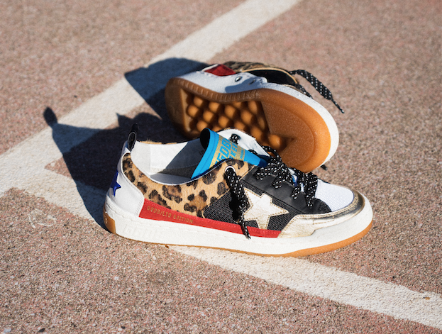 The limited-edition Yeah! sneaker.