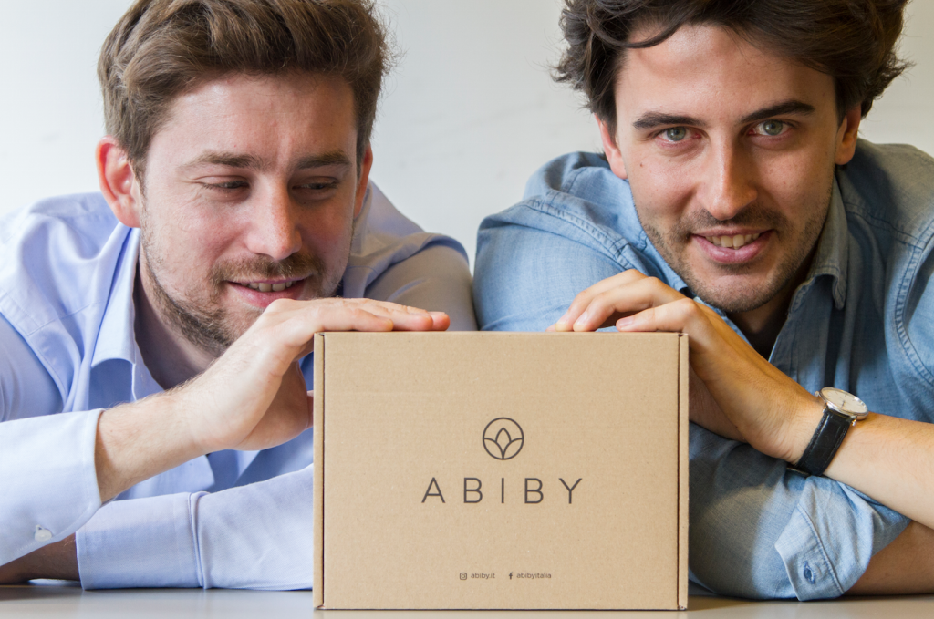 Abiby's co-founders Luca Della Croce and Mario Parteli.