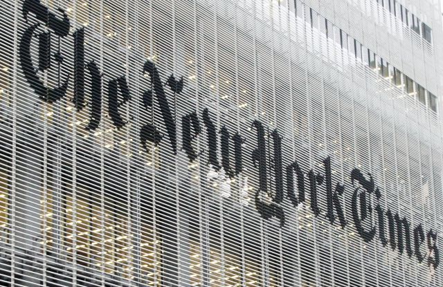 This photo shows the New York Times building in New York. On Wednesday, Jan. 14, 2015, The New York Times Co. said Mexican billionaire Carlos Slim is now the largest holder of its publicly traded shares. The business magnate, who built his fortune by amassing a range of retail, industrial and telecom companies, is ranked by Forbes as the world's second-richest person with an estimated net worth of $72 billionNew York Times Carlos Slim, New York, USA