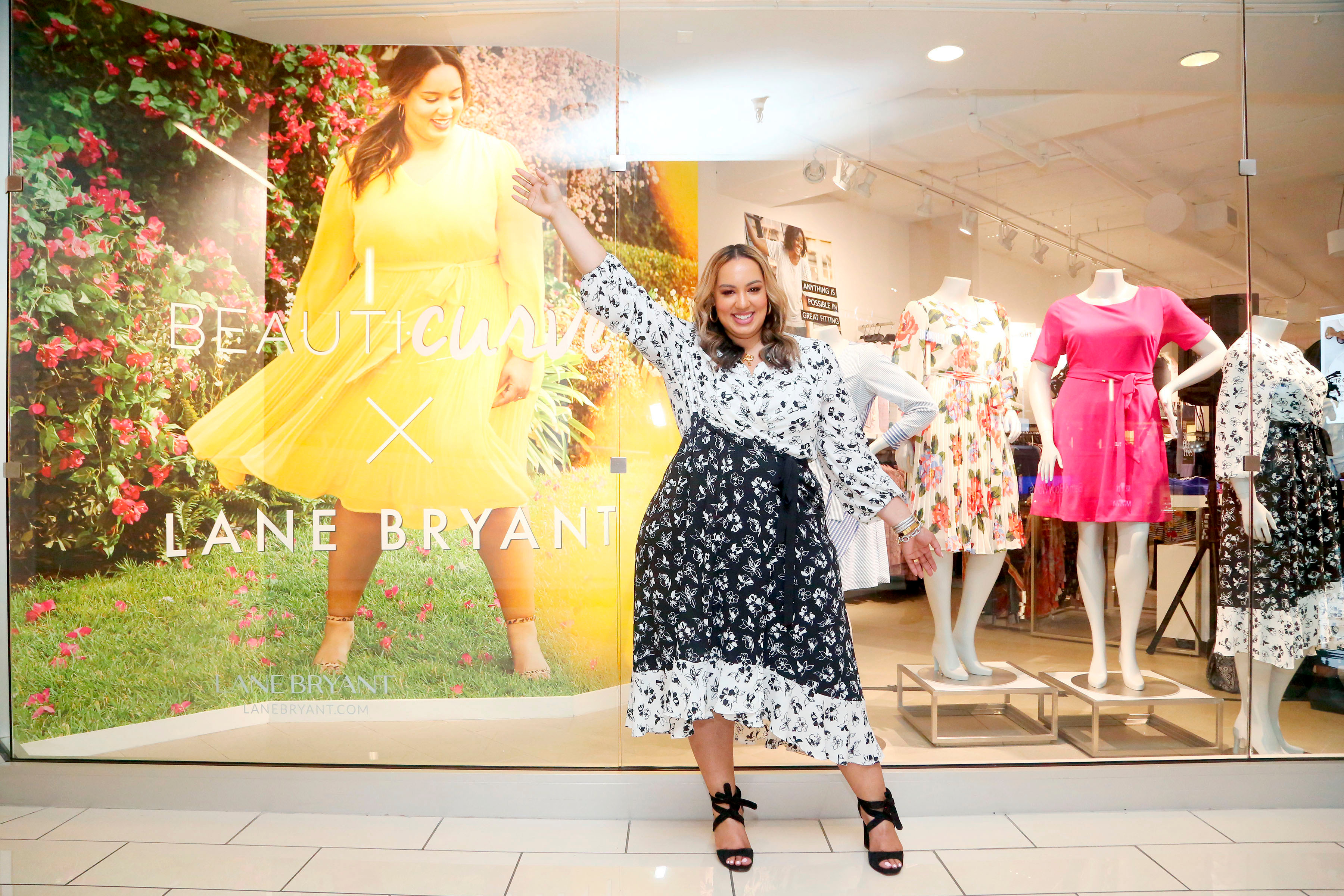 Rochelle Johnson and Lane Bryant debut the Beauticurve x Lane Bryant collection at a Preview Event, in Culver City, CalifBeauticurve x Lane Bryant Preview Event With Rochelle Johnson, Culver City, USA - 18 Mar 2019