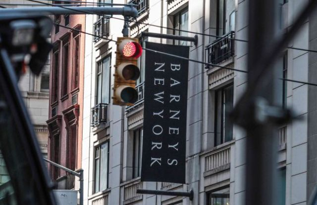 This photo shows the Barneys department store in New York. The luxury retailer could be joining a growing list of retailers that have filed for bankruptcy. Barneys New York is filing for Chapter 11 bankruptcy protection, the latest retailer to buckle as shoppers move online. The iconic clothier founded almost a century ago will keep the doors open at its 10-story Madison Avenue store, but it has secured $75 million in financing to pay employees and vendors as it seeks a buyerBarneys Bankruptcy, New York, USA - 16 Jul 2019
