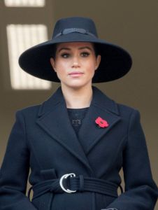 Meghan Duchess of SussexRemembrance Day Service, The Cenotaph, Whitehall, London, UK - 10 Nov 2019