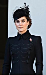 Catherine Duchess of CambridgeRemembrance Day Service, The Cenotaph, Whitehall, London, UK - 10 Nov 2019