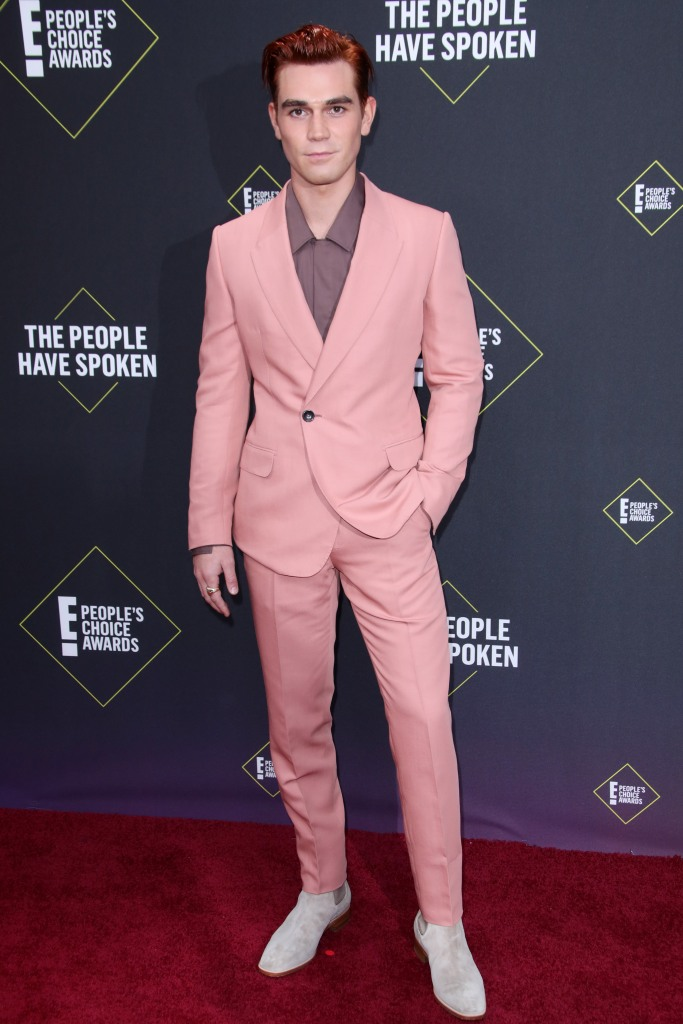 KJ Apa45th Annual People's Choice Awards, Arrivals, Barker Hanger, Los Angeles, USA - 10 Nov 2019