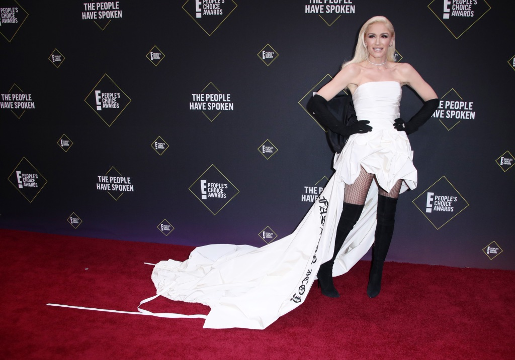 Gwen Stefani45th Annual People's Choice Awards, Arrivals, Barker Hanger, Los Angeles, USA - 10 Nov 2019