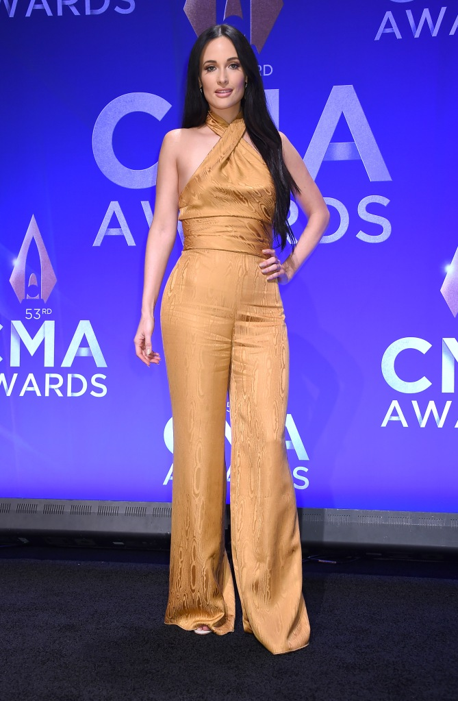 Kacey Musgraves53rd Annual CMA Awards, Press Room, Bridgestone Arena, Nashville, USA - 13 Nov 2019Wearing Cushnie