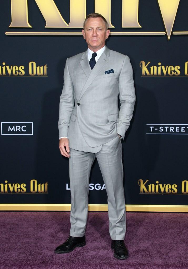Daniel Craig'Knives Out' film premiere, Arrivals, Regency Village Theatre, Los Angeles, USA - 14 Nov 2019