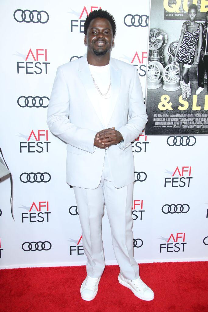 Daniel Kaluuya'Queen and Slim' film premiere, Arrivals, AFI Fest, Los Angeles, USA - 14 Nov 2019Wearing Dior Men