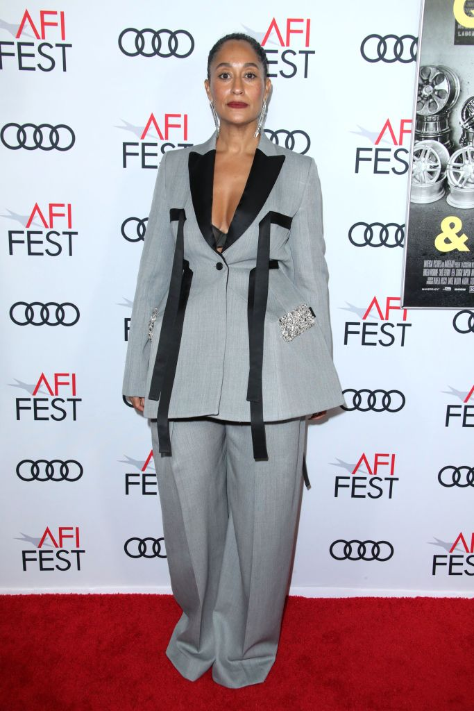 Tracee Ellis Ross'Queen and Slim' film premiere, Arrivals, AFI Fest, Los Angeles, USA - 14 Nov 2019Wearing JW Anderson Same Outfit as catwalk model *10411758ak