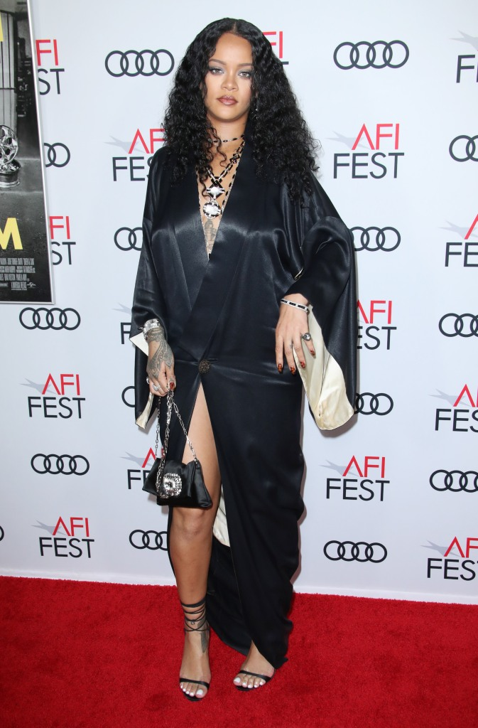Rihanna'Queen and Slim' film premiere, Arrivals, AFI Fest, Los Angeles, USA - 14 Nov 2019Wearing John Galliano, Vintage