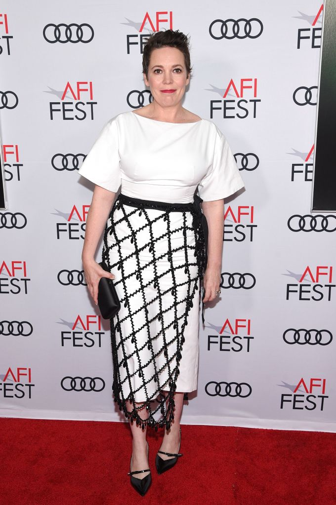Olivia Colman'The Crown' TV show, Season 3 gala screening, Arrivals, AFI Fest, TCL Chinese Theatre, Los Angeles, USA - 16 Nov 2019Wearing Prada