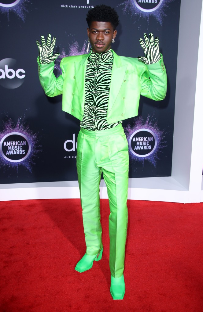 Lil Nas X47th Annual American Music Awards, Arrivals, Microsoft Theater, Los Angeles, USA - 24 Nov 2019