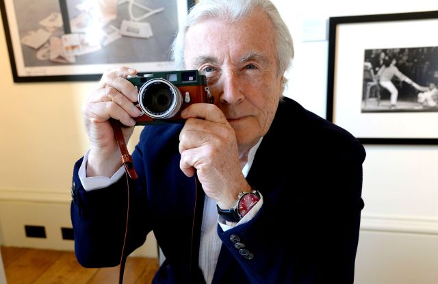 Terry O'Neill Launch of Leica MP Film Camera and Summilux 50mm 'Terry O'Neill' Edition at Photo London