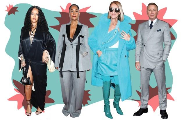 Rihanna, Tracee Ellis Ross, Celine Dion. and Daniel Craig