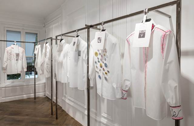 Karl Lagerfeld white shirts