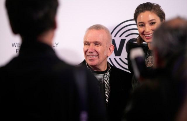 Jean Paul Gaultier and Alexandra Agoston