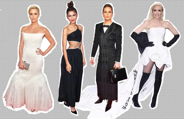 Charlize Theron, Zendaya, Ashlyn Harris, and Gwen Stefani